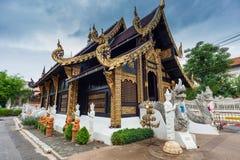 Wat Inthakhin Sadue Muang; Thailand stock foto's