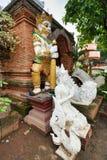 Wat Inthakhin Sadue Muang; Thailand stock afbeelding