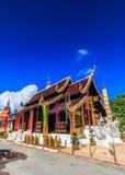 Wat Inthakhin Saduemuang在泰国 库存照片