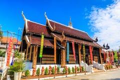 Wat Inthakhin Saduemuang en Tailandia Fotografía de archivo