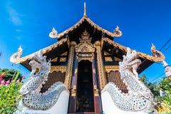 Wat Inthakhin Saduemuang, Tailandia Fotografia Stock