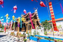 Wat Inthakhin Saduemuang, Tailandia Immagini Stock