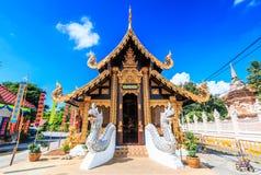 Wat Inthakhin Saduemuang in Tailandia Fotografie Stock