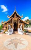 Wat Inthakhin Saduemuang in Tailandia Fotografie Stock Libere da Diritti