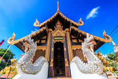 Wat Inthakhin Saduemuang in Thailand Royalty-vrije Stock Foto's