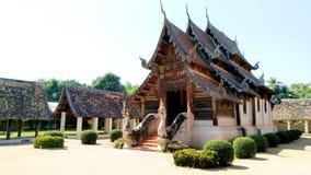 Wat Intharawat Chiang Mai Fotografia Stock Libera da Diritti