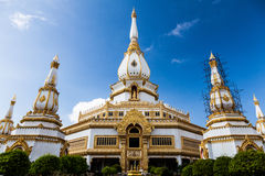 Wat Jadi-chaimongkol, Roi-et Royalty Free Stock Images