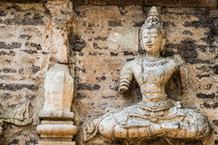 Wat Jed Yod in Chiangmai, Thailand. Stock Photography