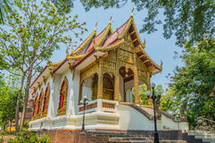 Wat Jed Yod in Chiangmai, Thailand. Royalty Free Stock Images