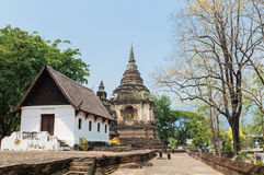 Wat Jed Yod in Chiangmai, Thailand. Royalty Free Stock Photography
