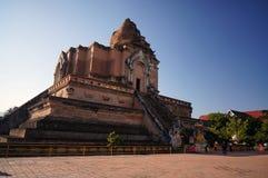 Wat Jedi Luang Chiangmai泰国 库存图片