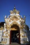 Wat Jedi Luang Chiangmai Thailand Royaltyfria Bilder