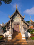 Wat Jedi Luang is one of the most attractive in Chiangmai Royalty Free Stock Photo