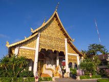 Wat Jedi Luang is one of the most attractive in Chiangmai Royalty Free Stock Photos