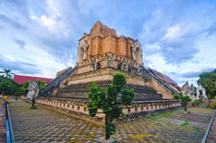 WAT JEDI LUANG TEMPLE (CHIANGMAI - Travel Thai Asi Stock Image