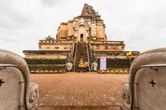 WAT JEDI LUANG TEMPLE Royalty Free Stock Photos
