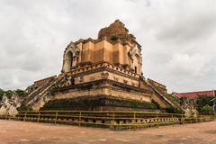 WAT JEDI LUANG TEMPLE Royalty Free Stock Images