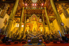 WAT JEDI LUANG TEMPLE Royalty Free Stock Image