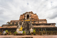 WAT JEDI LUANG TEMPLE Stock Image