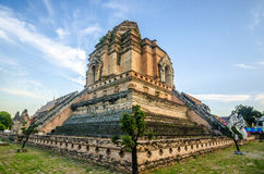 Wat Jediluang, Chiang Mai, Thailand. 's major tourist attractions Royalty Free Stock Image