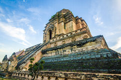 Wat Jediluang, Chiang Mai, Thailand Stock Photo