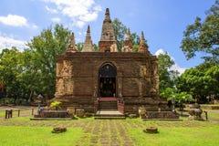 Wat Jet Yod, Chiang Mai, Thaïlande Photo libre de droits