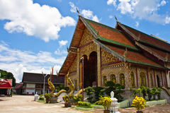 Wat Jet Yod, Chiang Rai, Thailand Royalty Free Stock Photo