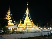 Wat-jog-kam. Wad night light Royalty Free Stock Photography