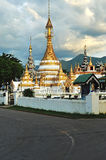 Wat Jong Klang in Maehongson province Stock Photography
