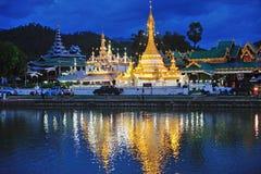 Wat Jong Klang in Maehongson, Thailand Royalty Free Stock Image
