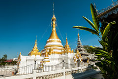Wat Jongklang - Jongkham 免版税库存图片