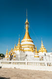 Wat Jongklang - Jongkham royalty-vrije stock foto
