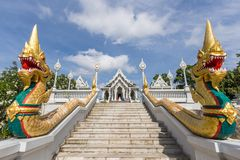 Wat Kaeo Ko Wararam is a famous temple in Krabi Province, Thailand. It is a beautiful Buddhist temple. In the center of Krabi town. Artistic picture. Beauty Stock Photos