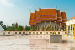 Wat Kaeo Manee Si Mahathat  at sunny day, Phuket Stock Photo