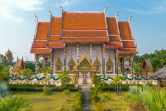 Wat Kaeo Manee Si Mahathat  at sunny day, Phuket Royalty Free Stock Photography