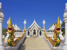 Wat Kaew Korawaram Temple imagem de stock