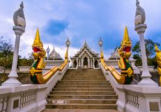 Wat Kaew temple in Krabi, Thailand Royalty Free Stock Photography
