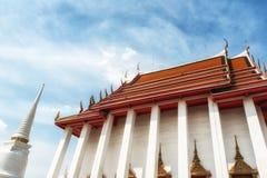 Wat Kalayanamit Temple, Bangkok, Thailand Royalty Free Stock Photography