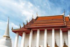 Wat Kalayanamit Temple, Bangkok, Thailand Stock Photography