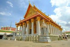 Wat Kalayanamit Woramahawiharn are Royal buddha temple in Bangko Stock Photo