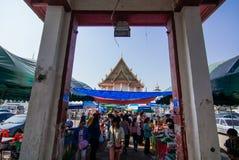 Wat Kanlayanamit Arkivbilder