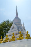Wat kao Chedi and Buddha statue Royalty Free Stock Photos
