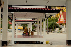 Wat Kee Ree Mas Pang Ka, Samui, Thailand Lizenzfreie Stockfotografie