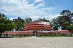 Wat Khanon/Ratcha Buri/Thailand Arkivfoton