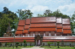 Wat Khanon/Ratcha Buri/Thailand Royaltyfri Bild