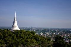 Wat Khao Bandai tegelsten Arkivbilder