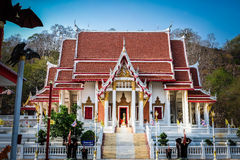 Wat Khao Chong Phran Bat-Hol Royalty-vrije Stock Foto's