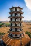 Wat Khao Noi, chinese stye temple in Kanchanaburi Stock Photos