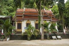 Wat Khao Orr i Phatthalung, Thailand royaltyfri fotografi