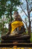 Wat Khao Phanom Phloeng Temple bij het Historische Park van Si Satchanalai in Sukhothai, Thailand royalty-vrije stock fotografie